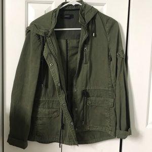 army green bonber jacket